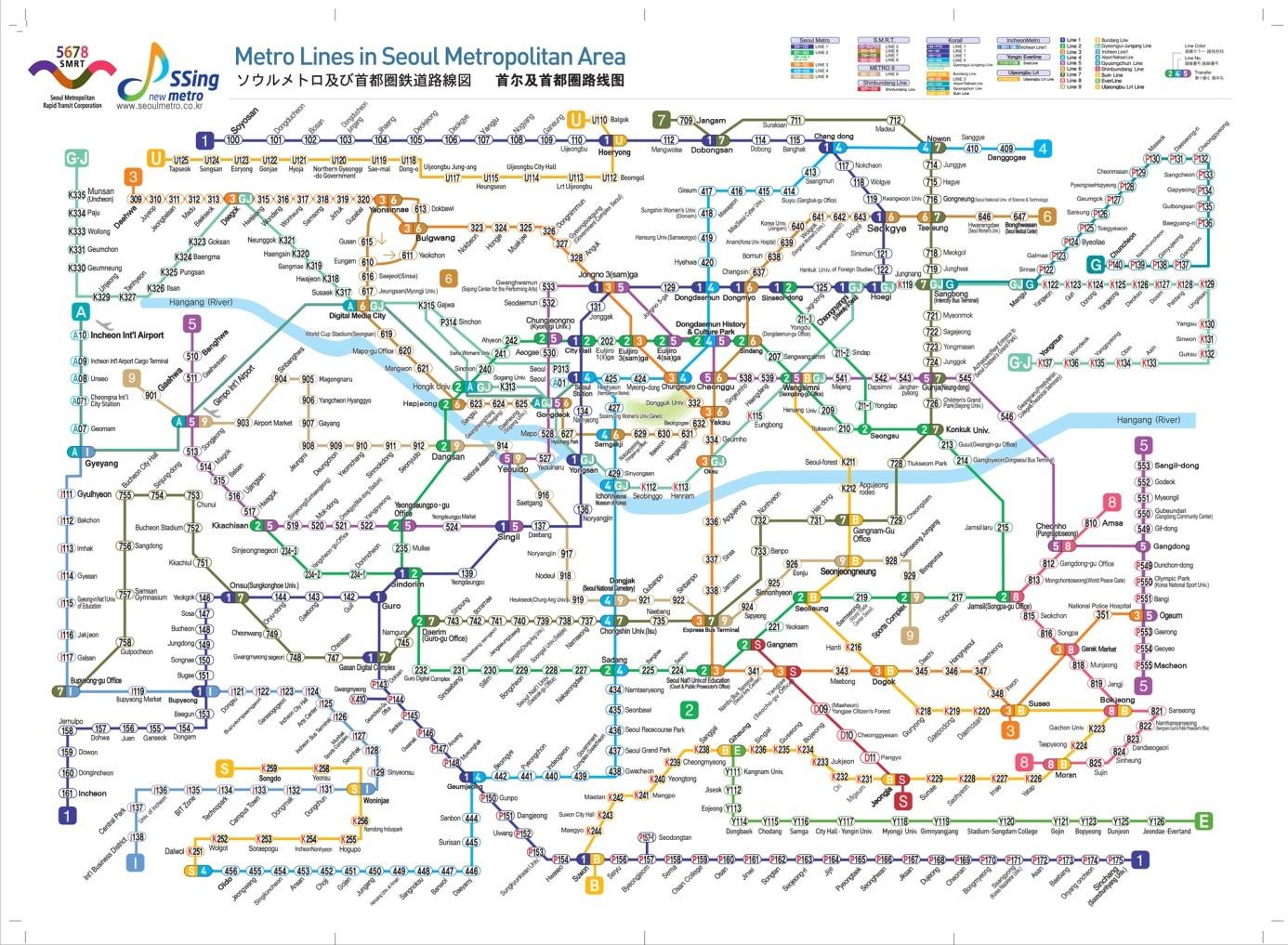 Yonsei Campus Map.Seoul City Guide Yonsei University